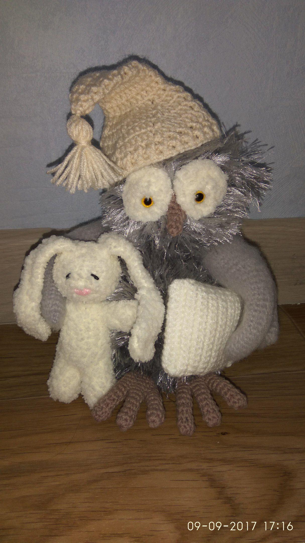 подарок детям сова игрушка ручнаяработа