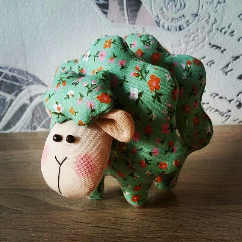 хлопок ребенок барашек животные игрушка своимируками подарок