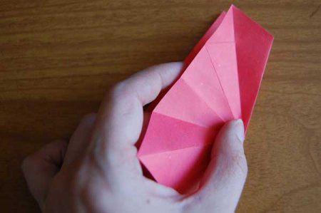 Оригами из бумаги цветы 24