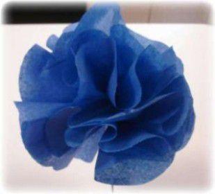 Цветы из гофрированной бумаги своими руками 27