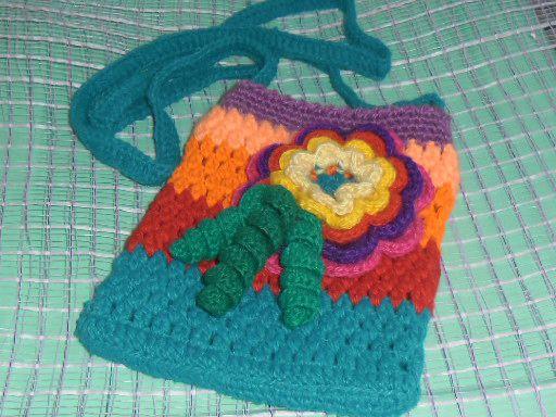 подарок дети вязание крючок детскаясумочка сумочка