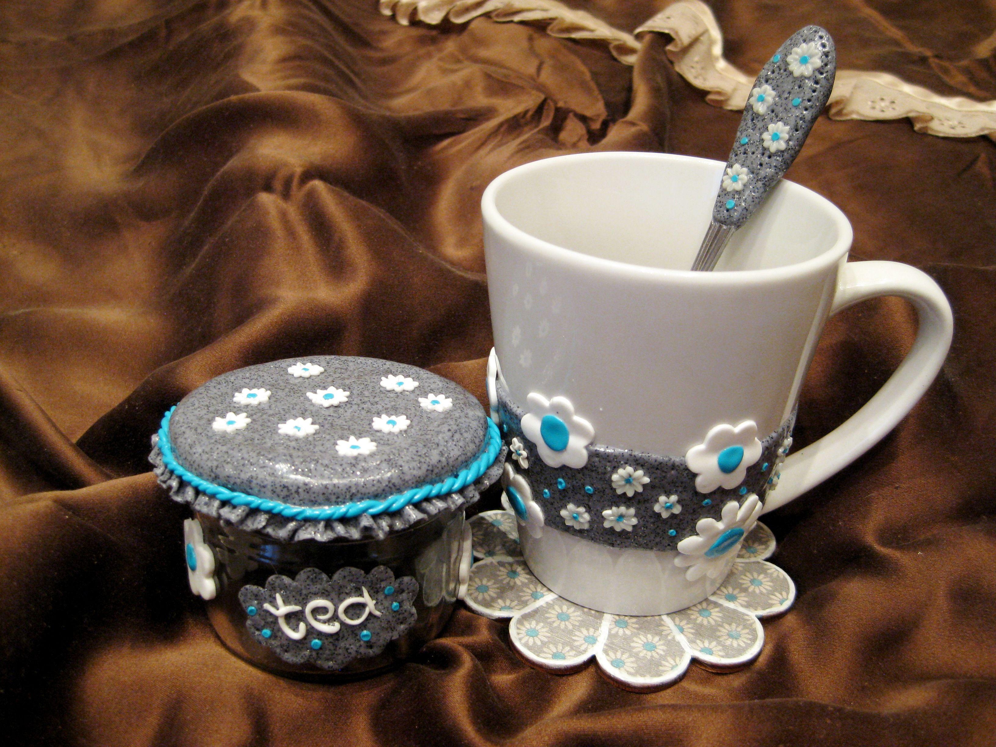уникальныйподарок handmade набор хендмейд творчество кружка чашка ложка подарок