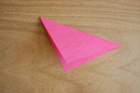 Оригами из бумаги цветы 1