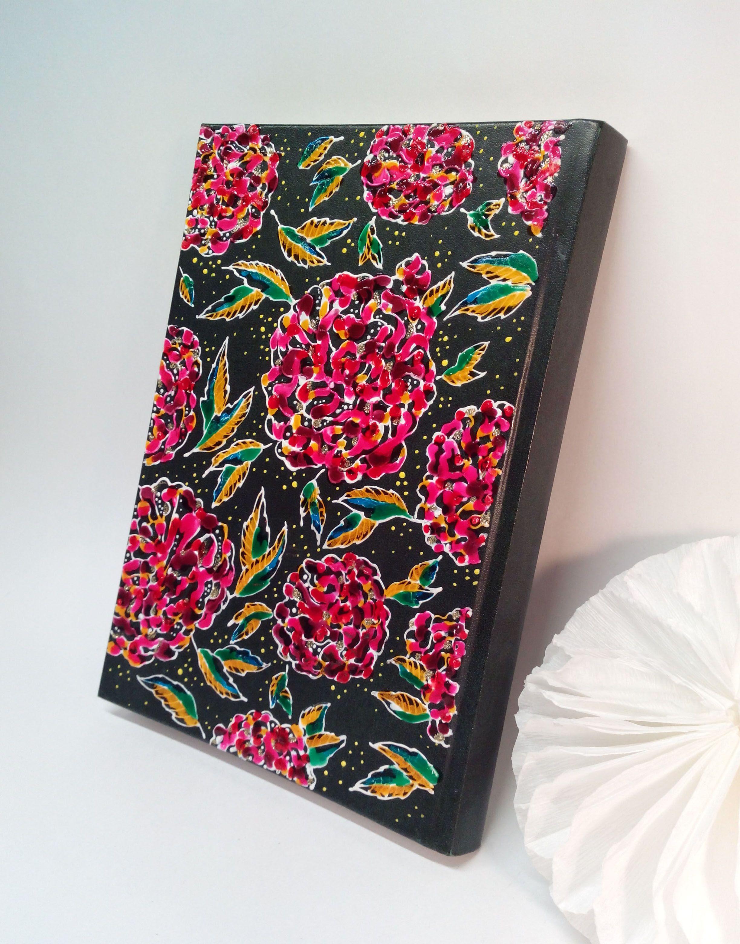 скетчбук роспись ручная подарок ежедневник