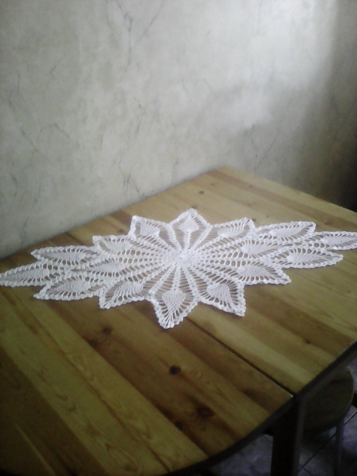 скатерть ажурная подарок салфетка вязаная