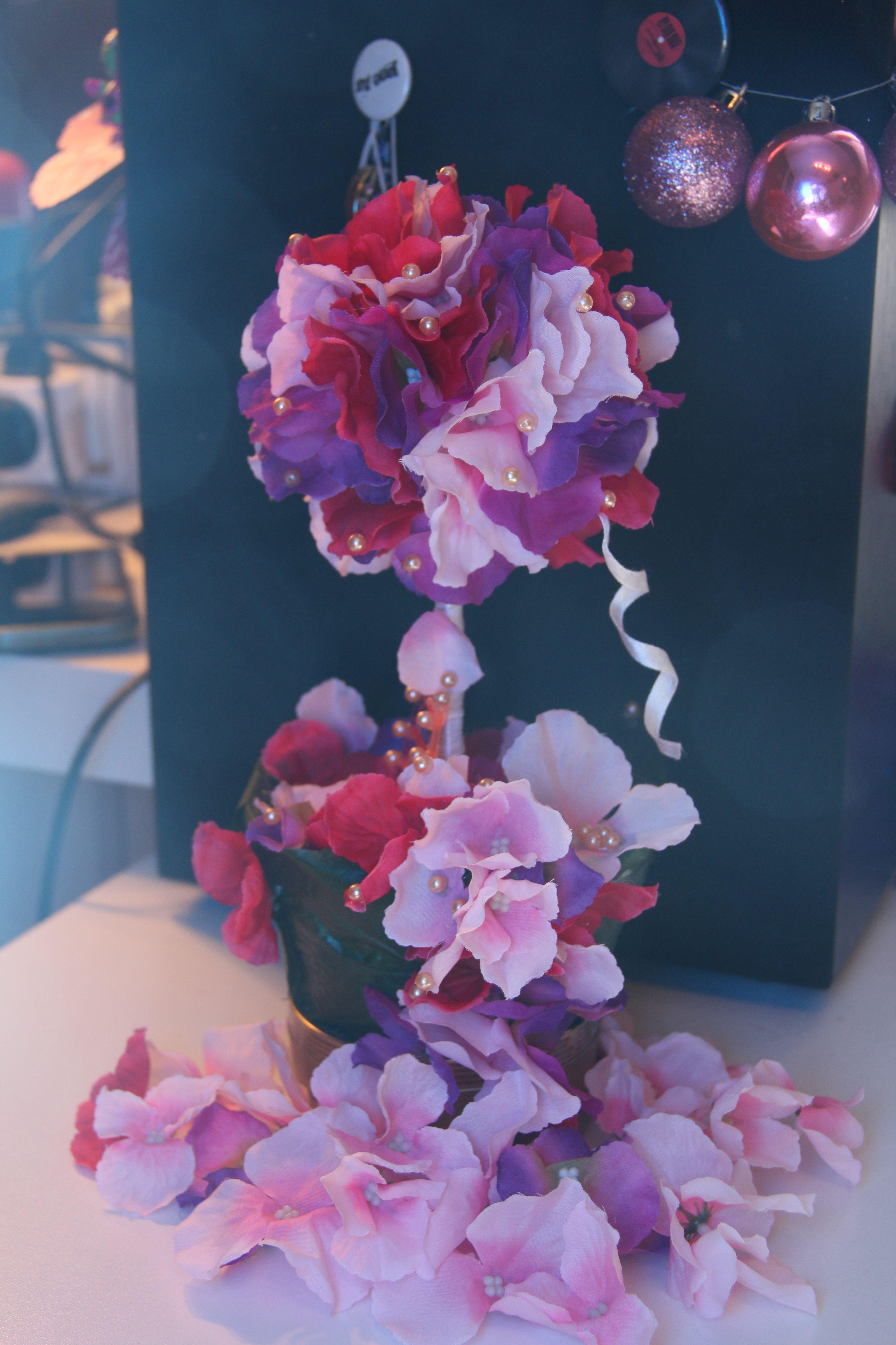 деревце_счастья топиарий дерево счастье розовый нежность красный подарок