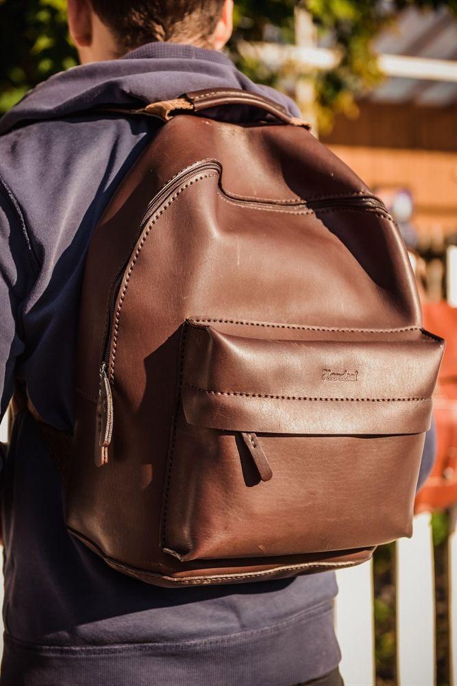 кожа работа ручная рюкзак портфель
