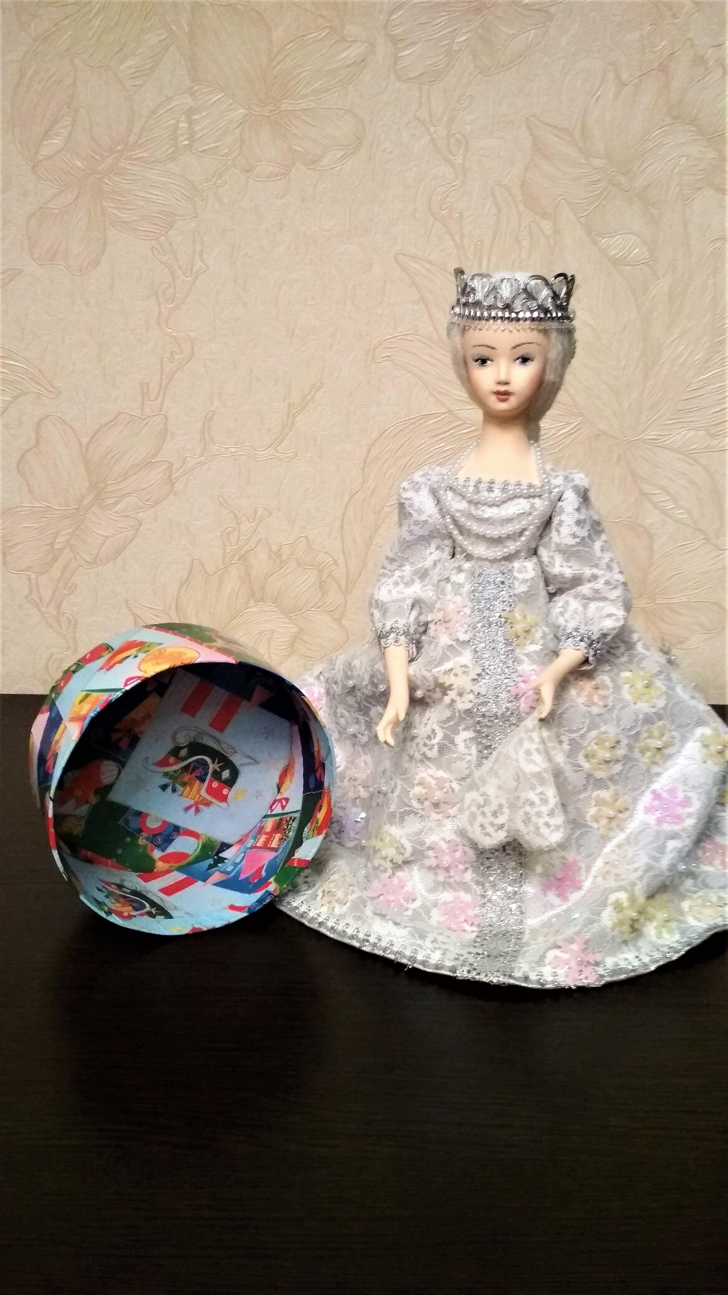 интерьерная женщине подарок кукла год подарка новый праздник шкатулка девушке снегурочка любой упаковка