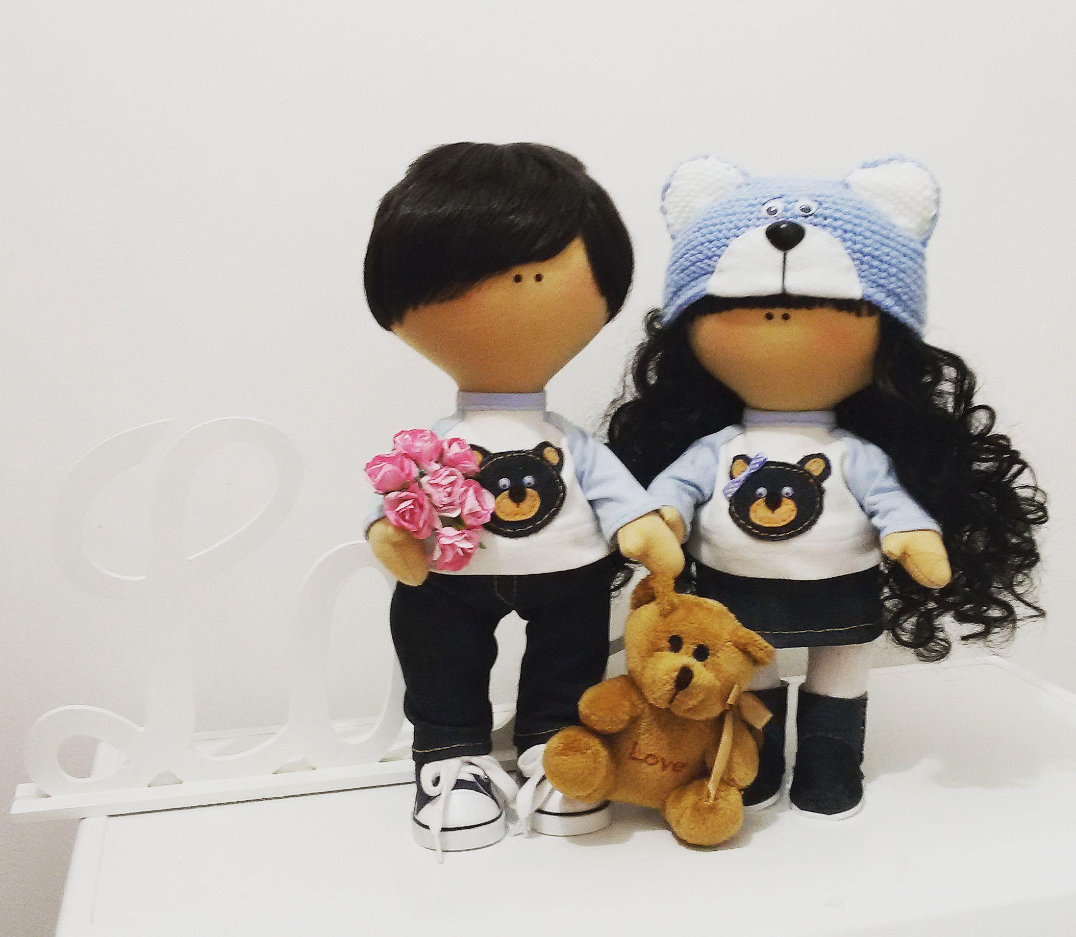 куклаизткани интерьернаякукла текстильная кукла подарок