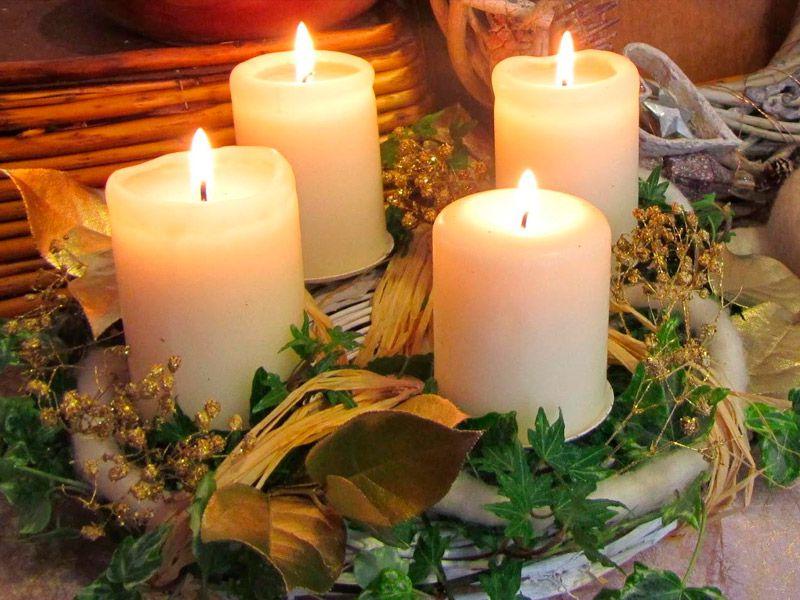 мастеркласс свечи декор интерьер новыйгод