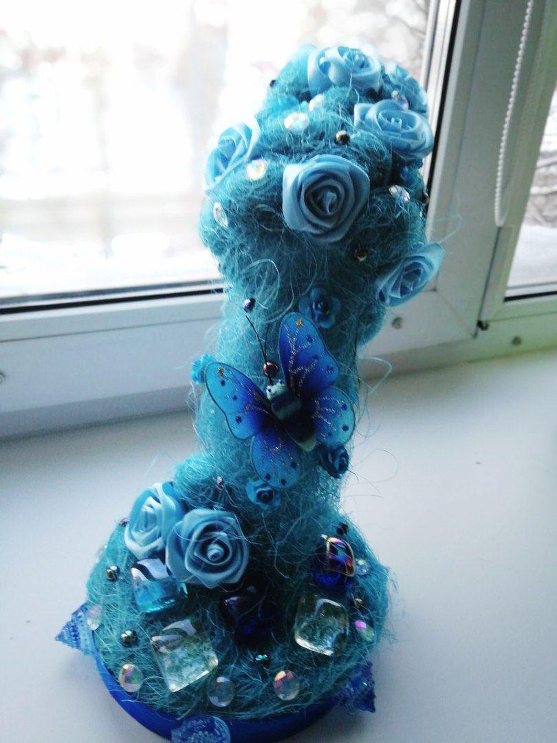 водопад ручнаяработа топиарий подарок красота handmade оригинально искусство