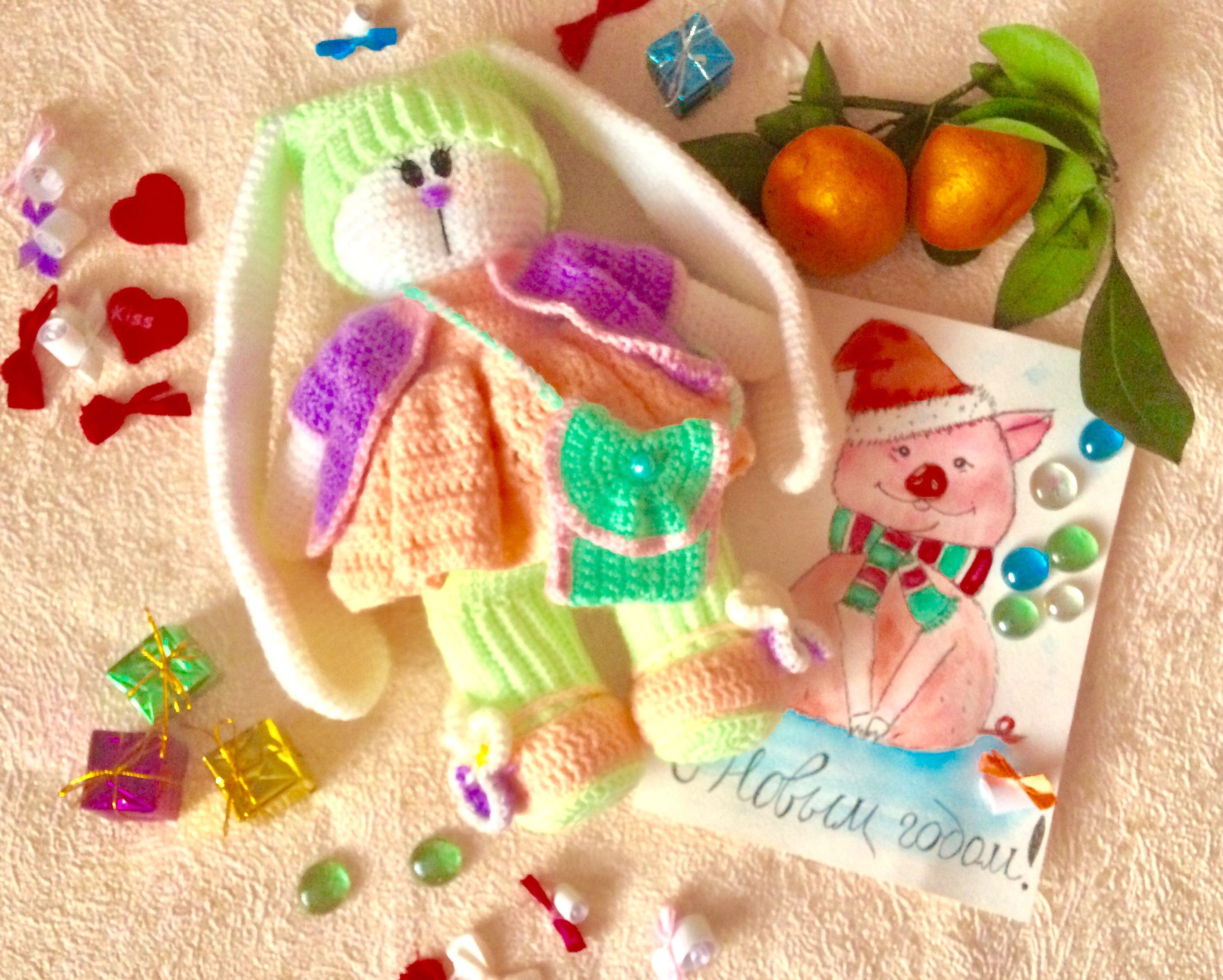 вязание игрушки дети