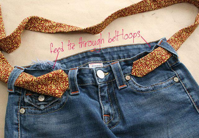 Из старых джинсов своими руками 9