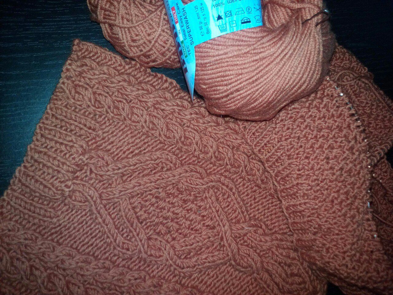 хомут шарф вязание детям зиму шапки варежки