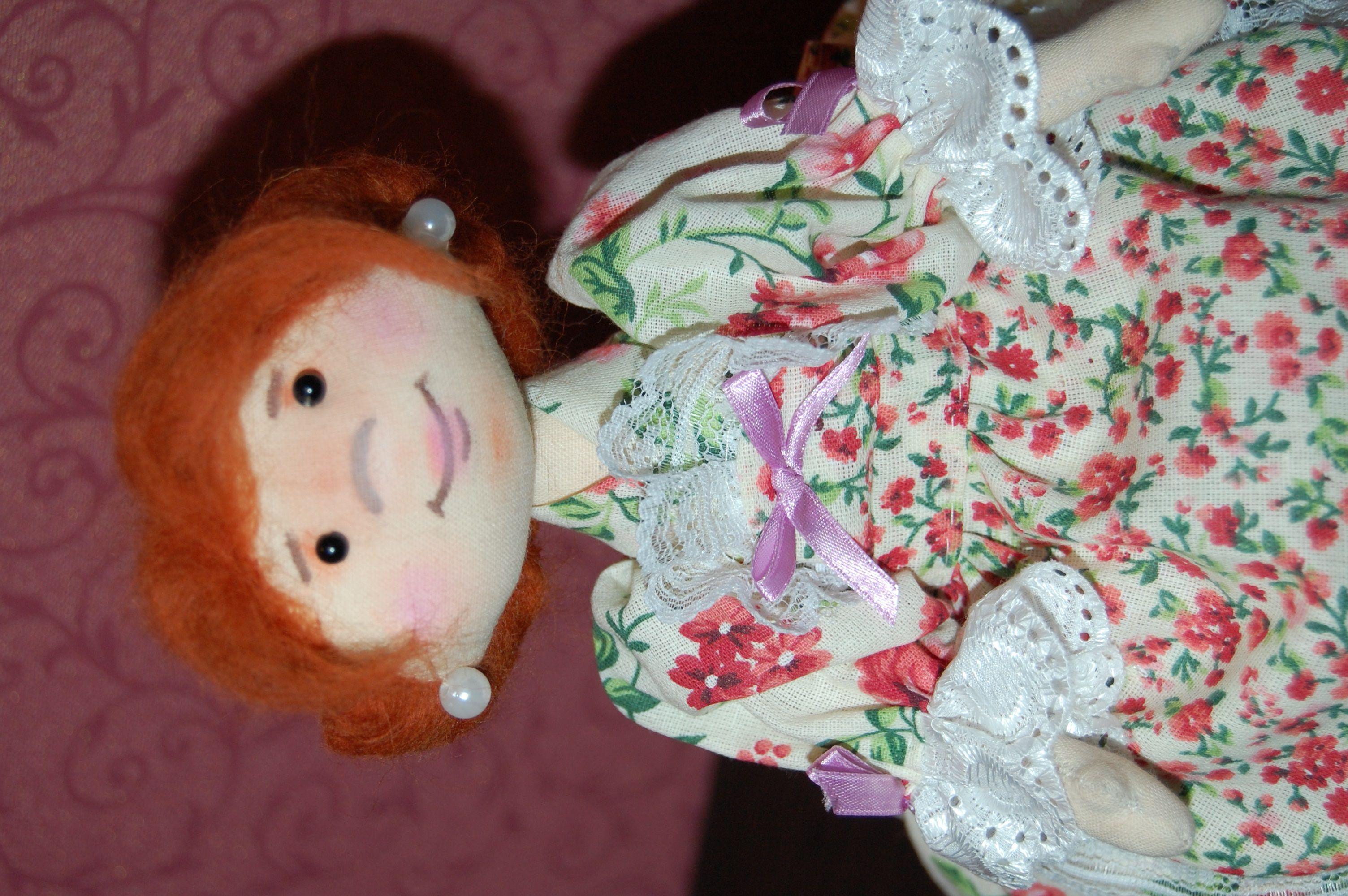 интерьера грелка чайник игрушка украшение кукла ручная работа на текстильная подарок