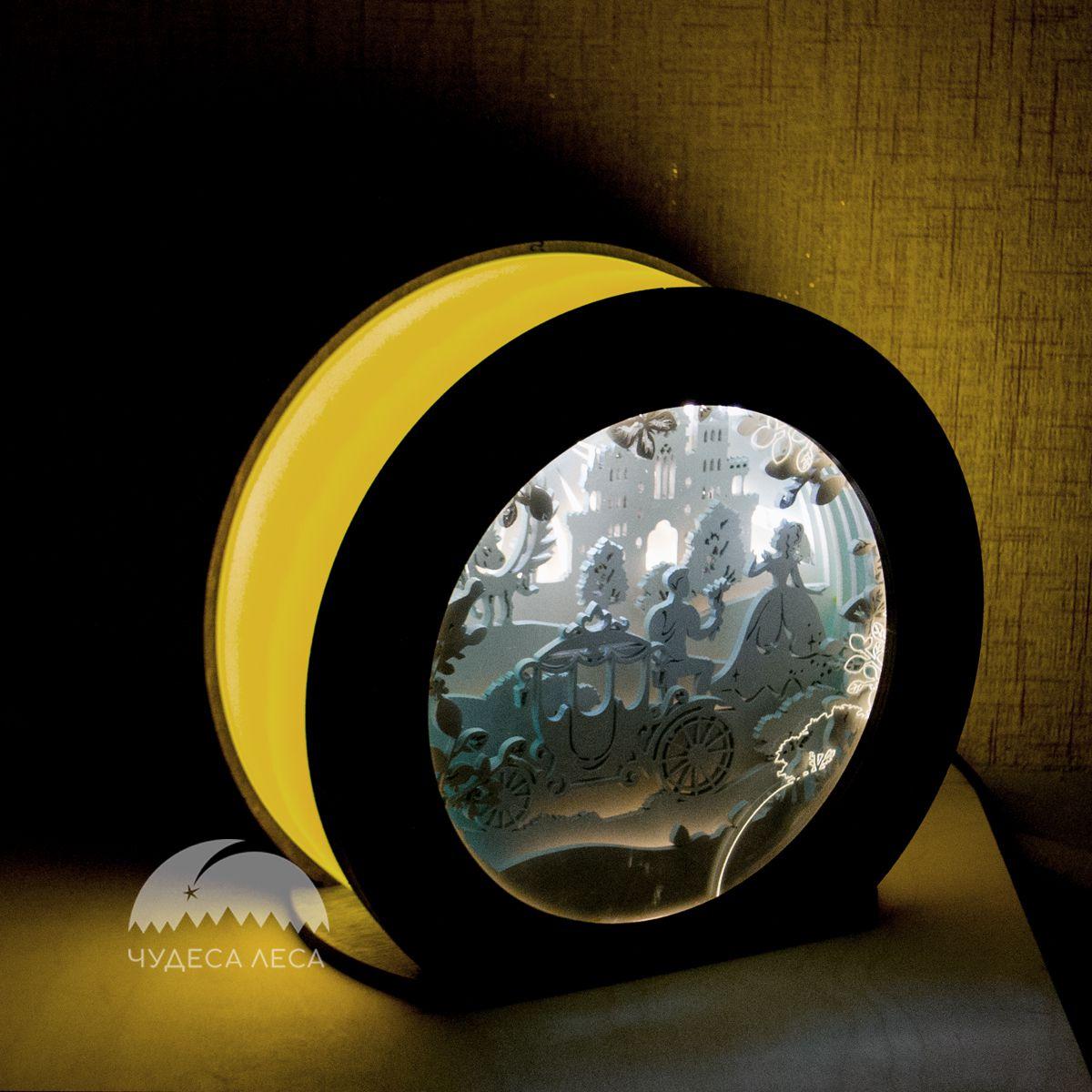 подарок детской интерьер ночник светильник