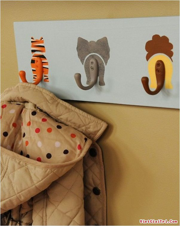 руками комнаты детской для вешалка идеи дети своими