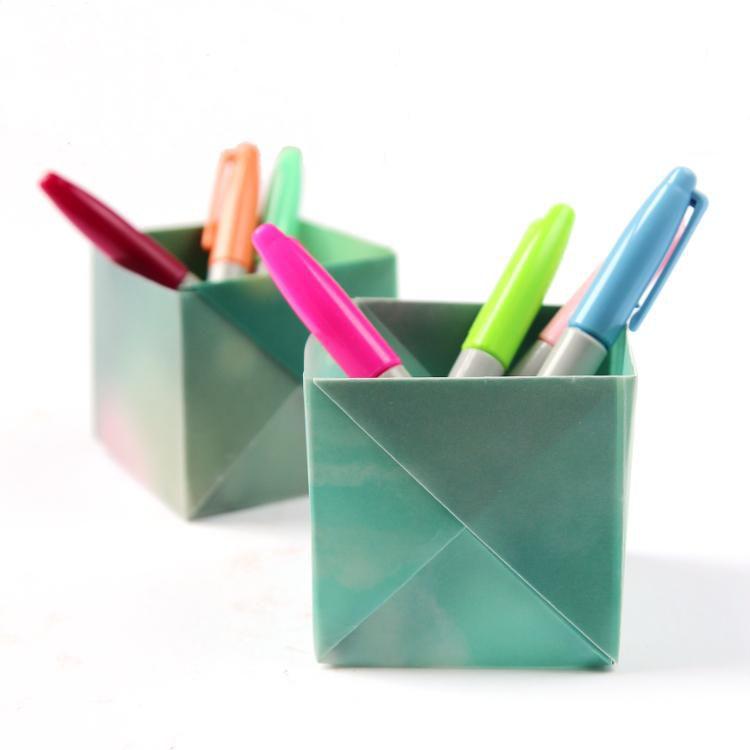бумаги аксесуары мастеркласс интерьер из оригами руками своими