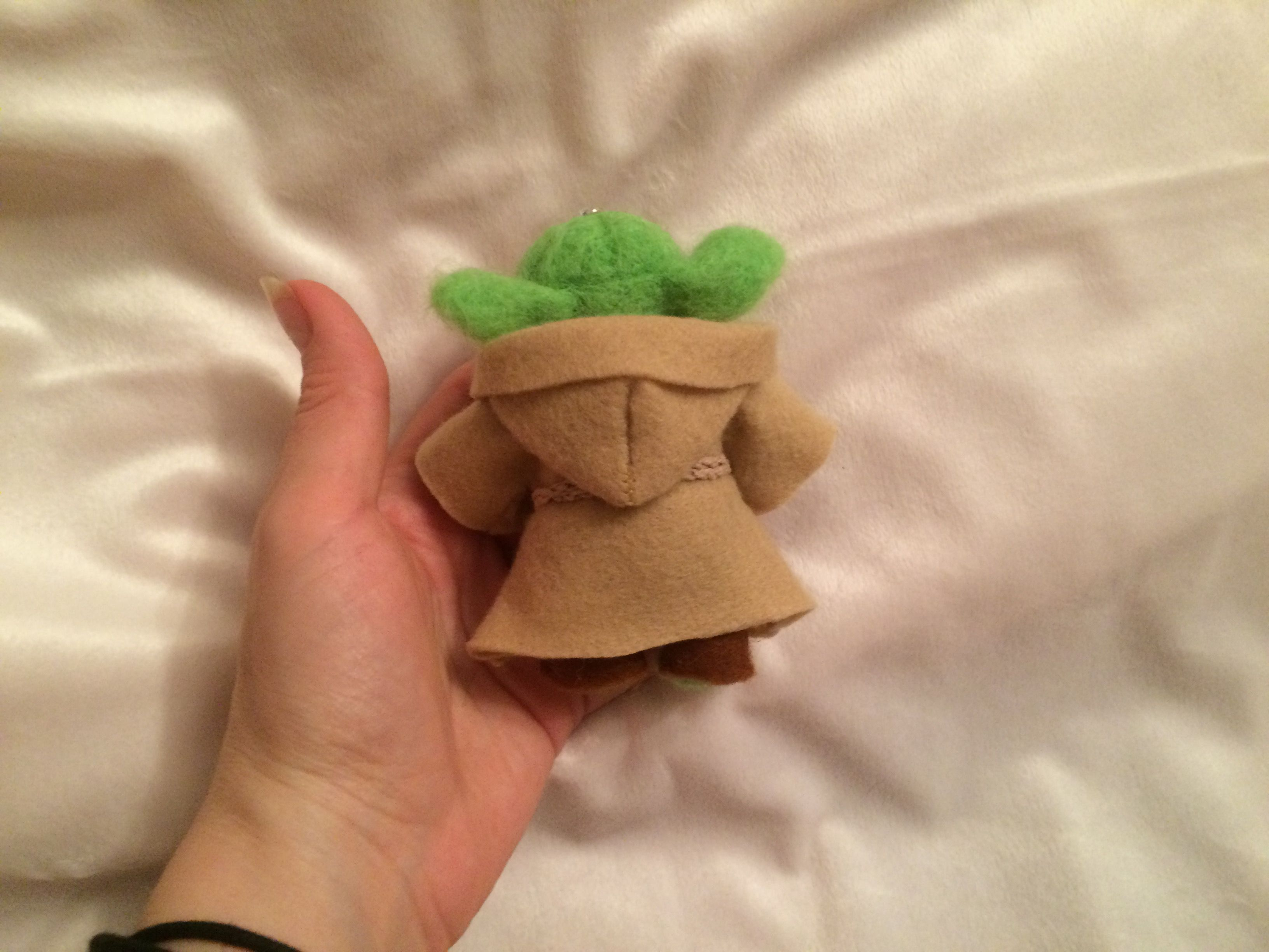 валенна йода игрушка брелок шерсти