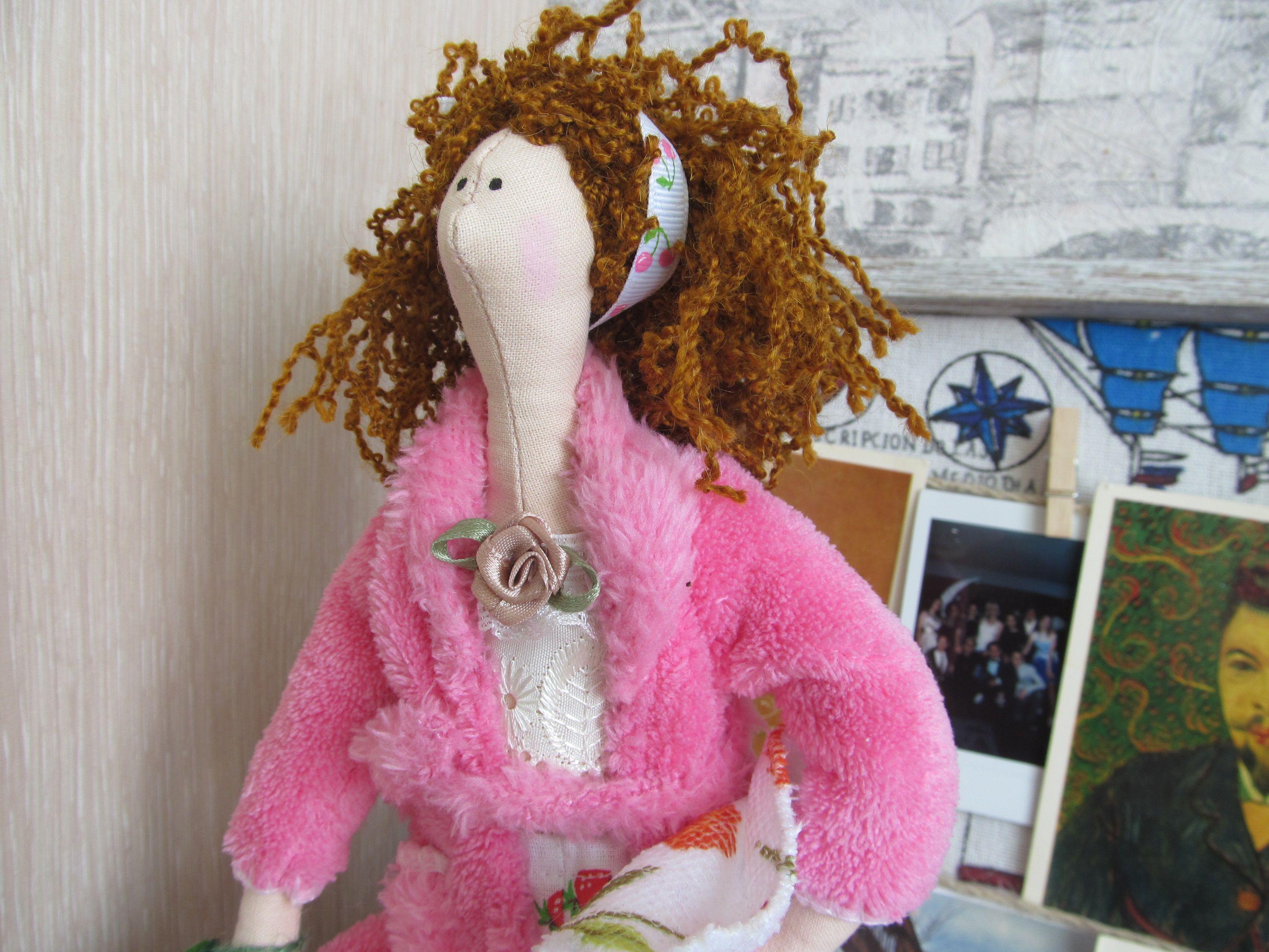 баня подарок новоселье кукла тильда домохозяйка