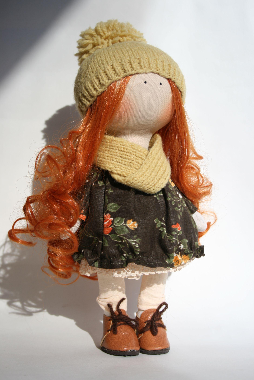 текстильная работы ручной кукла авторская интерьерная