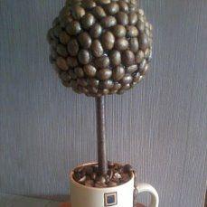 топиарий подарок работа ручная сувенир handmade счастья дерево