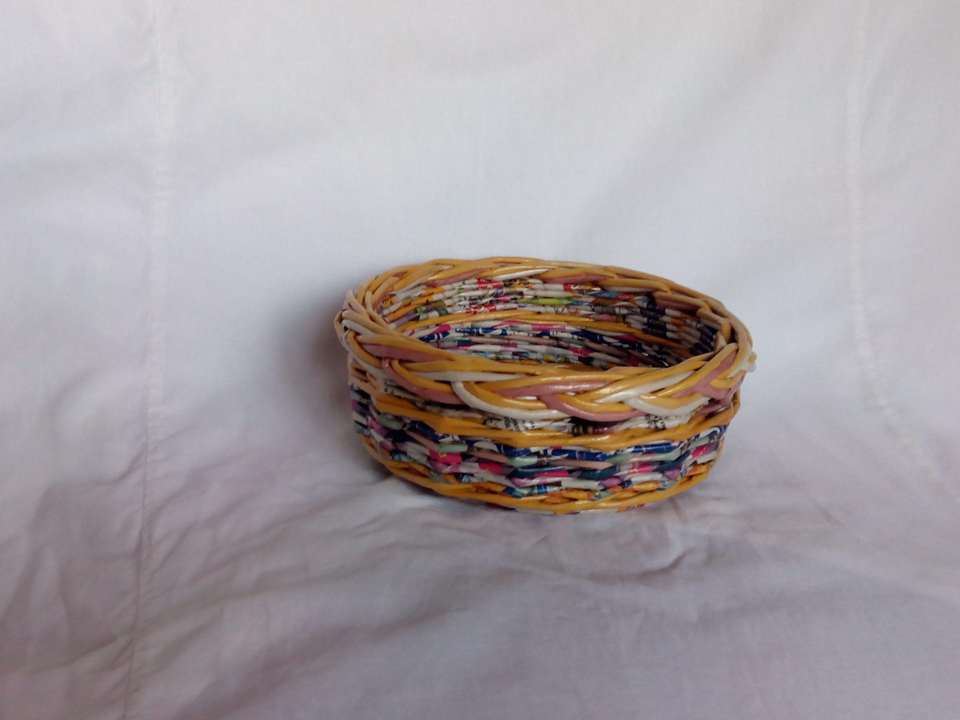 лоза тарелки газетных посуда трубочек блюда утварь газетная и дома подарки изделия декоративная для оригинальные кухня интерьер из бумажные кухонная плетеные
