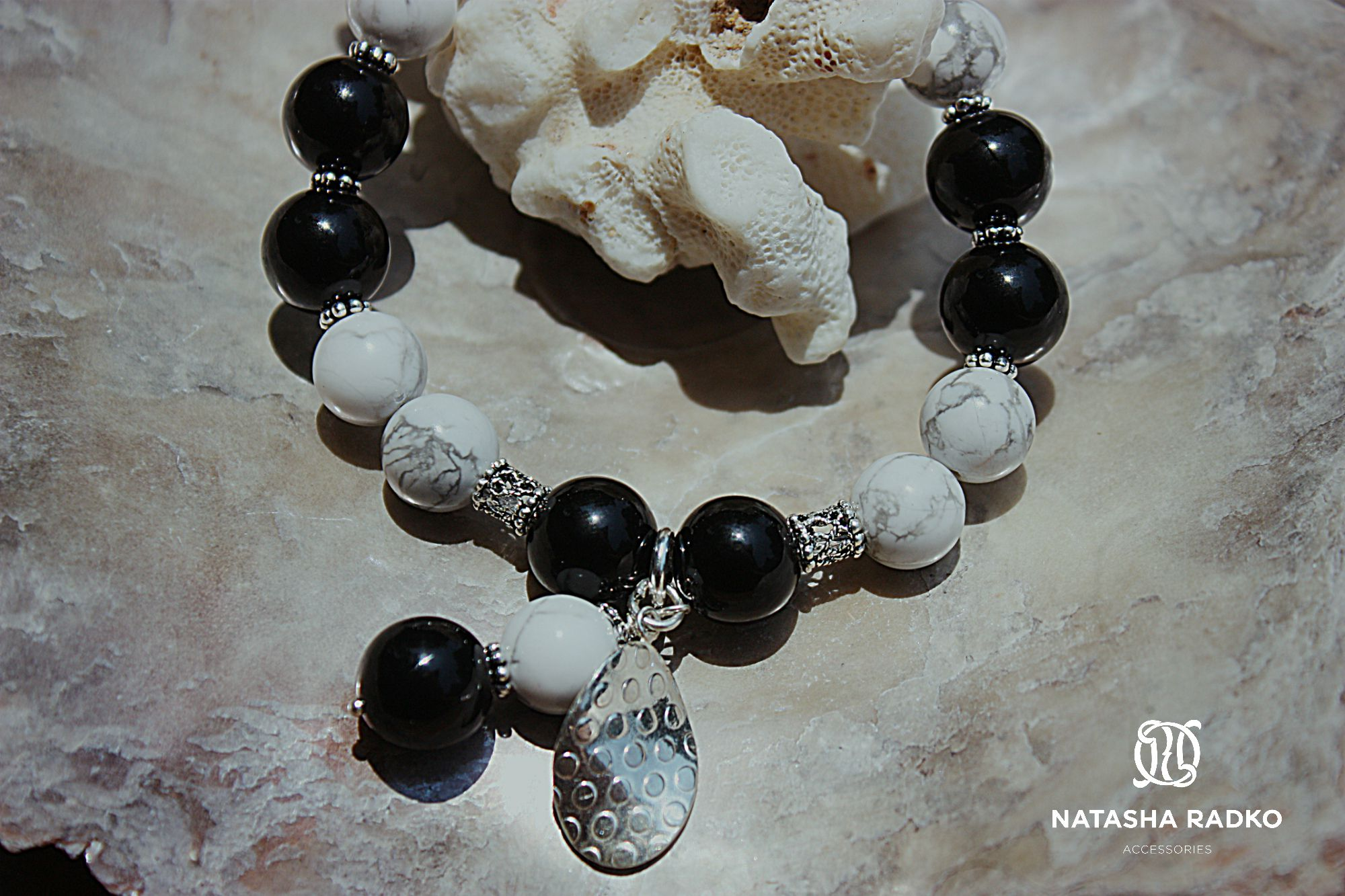 подарок браслет агат украшение серебро камни кахолонг натуральные