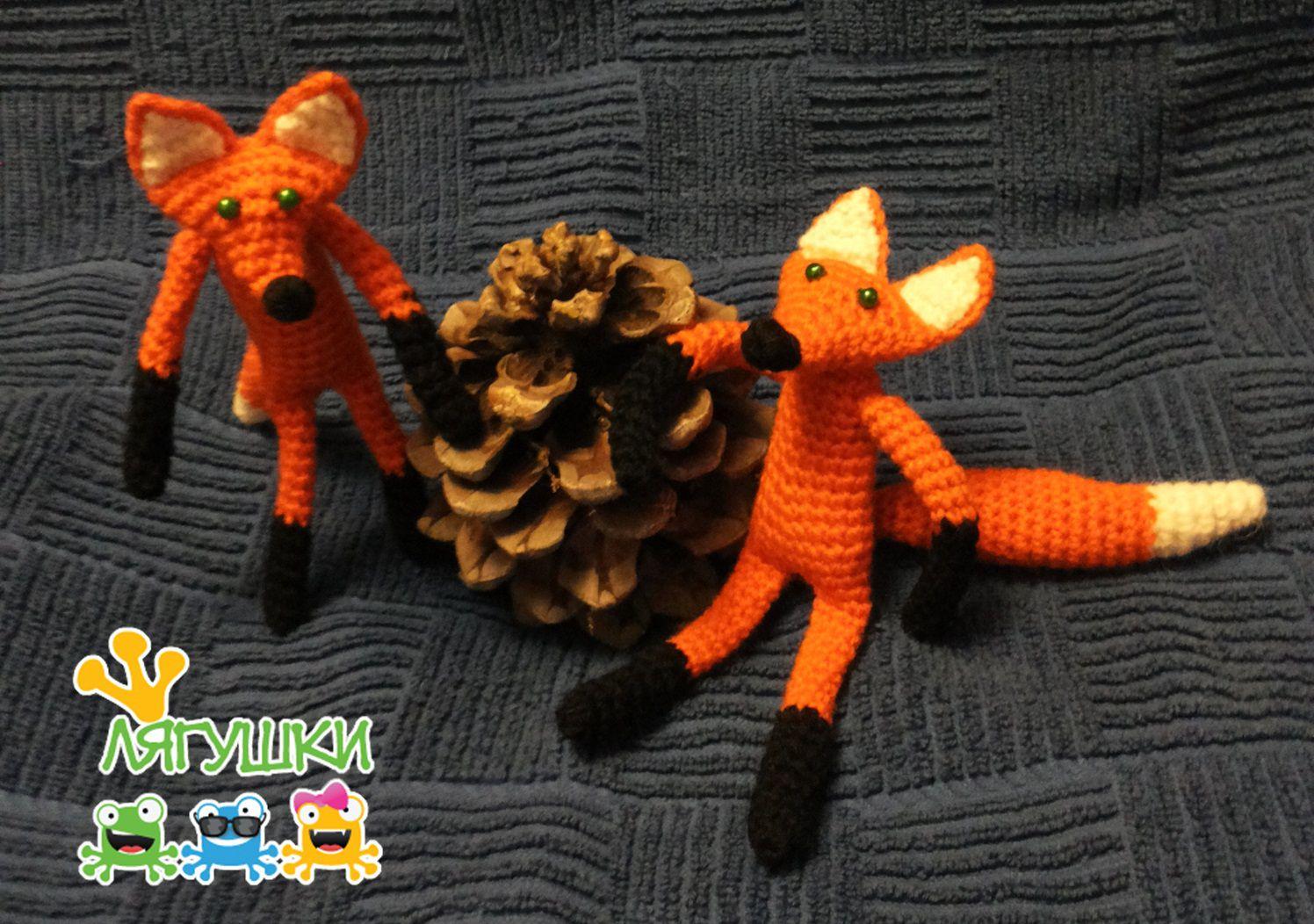 фырфыр лисичкасестричка kidstoy softtoy детям мягкаяигрушка лисичка лиса вязанаяигрушка трилягушки redfox stuffedtoy fox crochet рыжеечудо