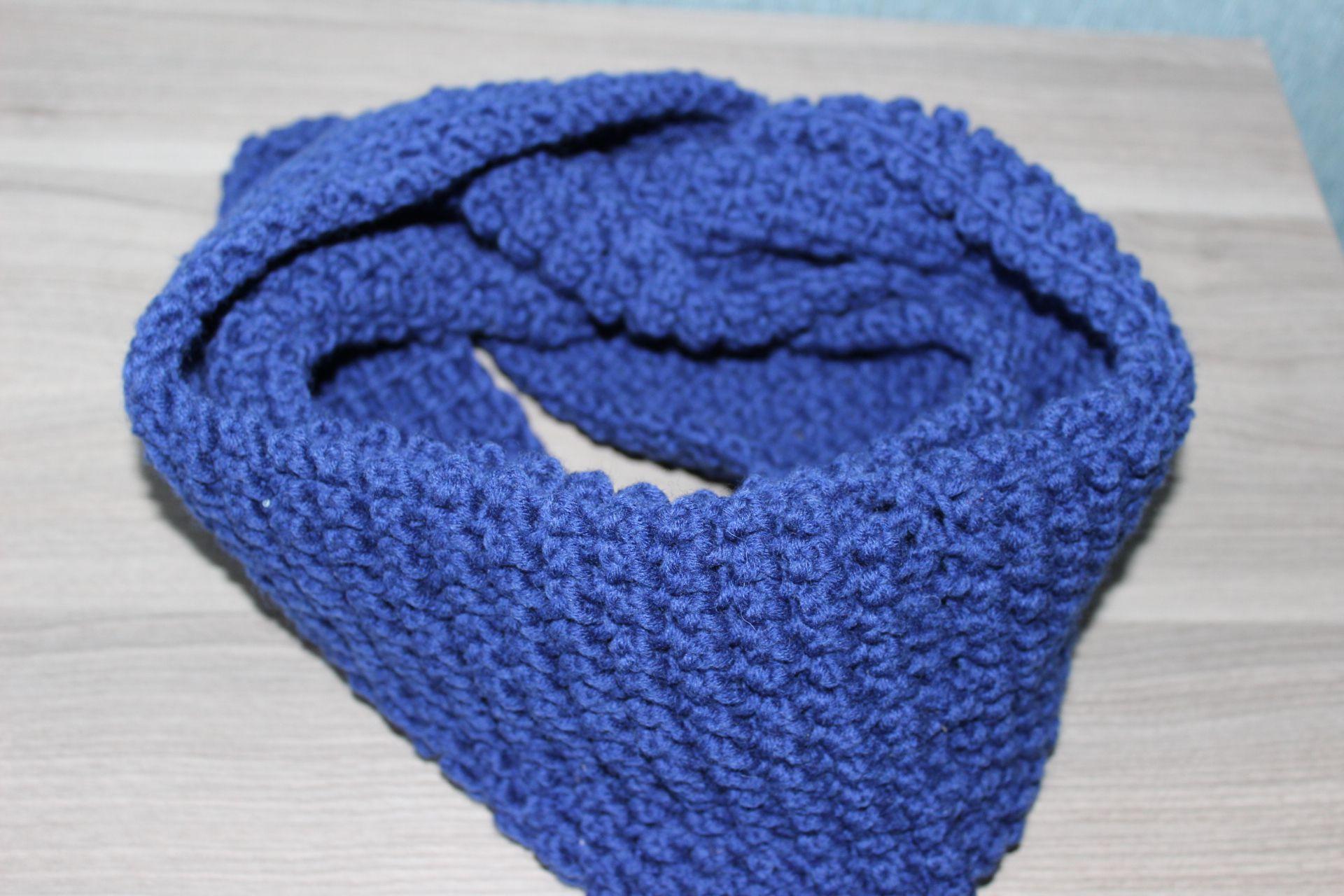 handmade ручная работа крючком шарф снуд