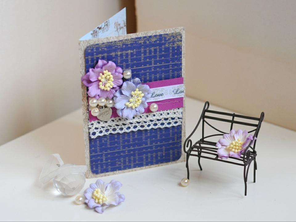мастерим бумаги мастеркласс открытка скрапбукинг из подарок