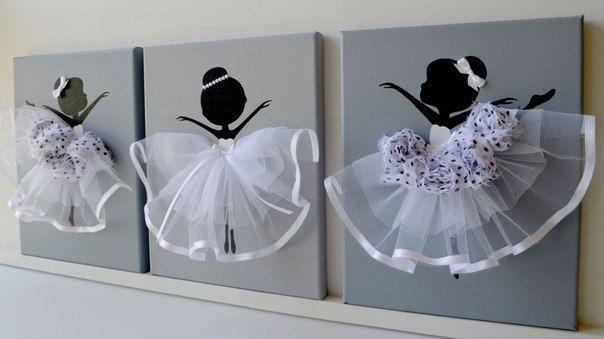 панно балерины танцы