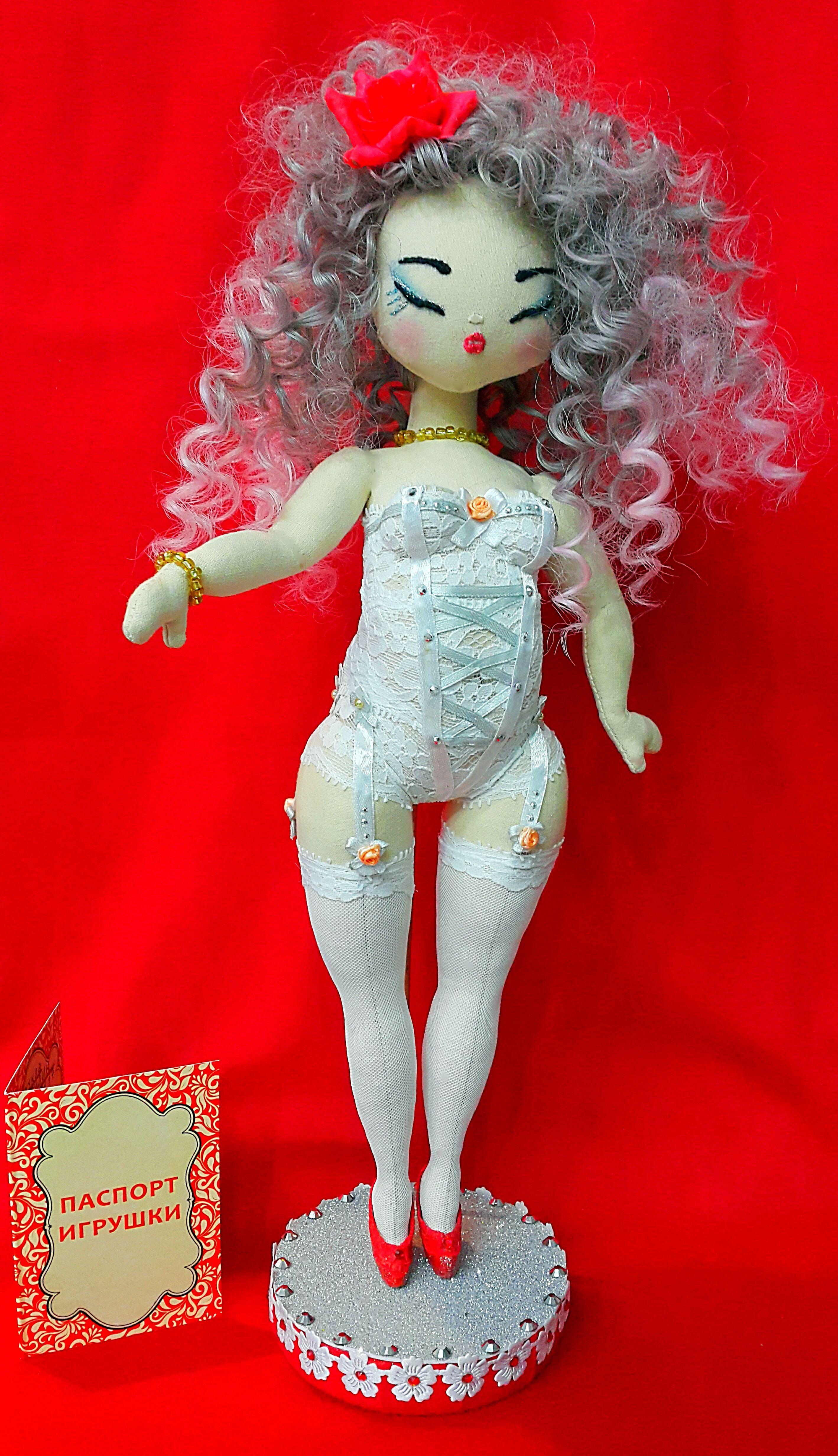 куклаинтерьернаяручной работытекстильная