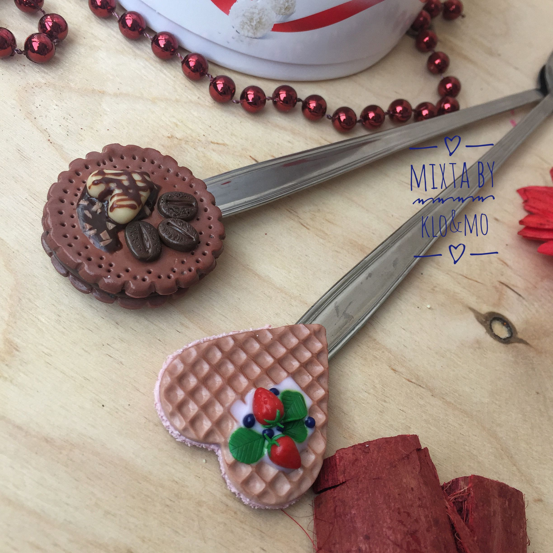 глина полимернаяглина ложки ложкиизглины вкусныеложки подарок
