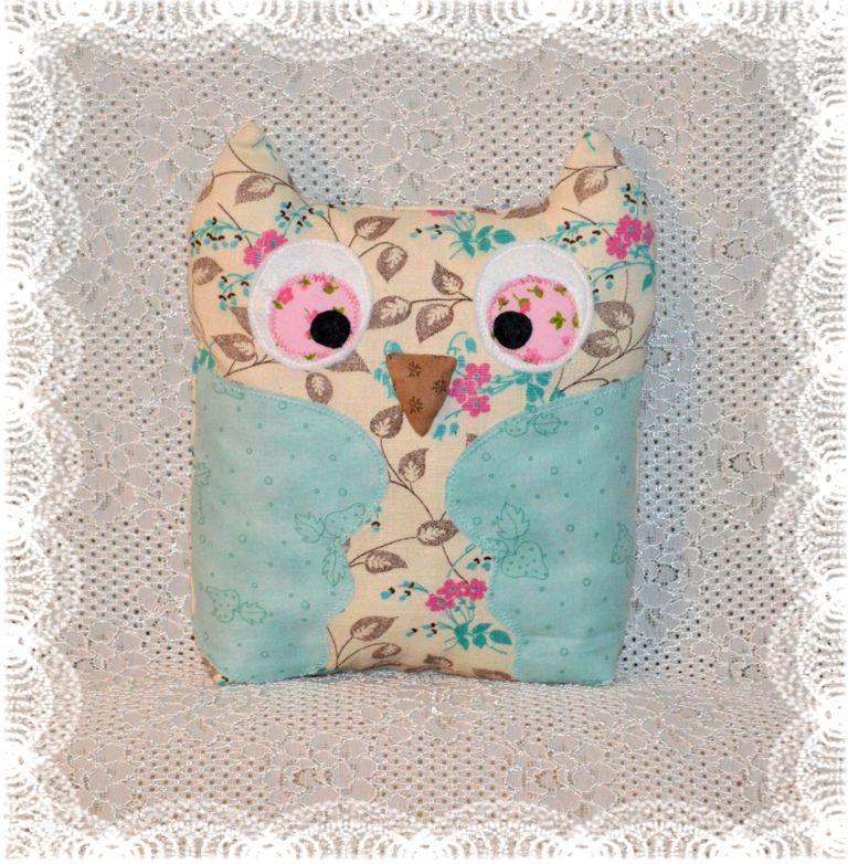 спальня игрушка подушка хлопок детская сова интерьер подарок