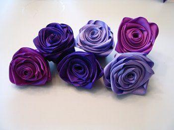 руками из ткани цветы своими