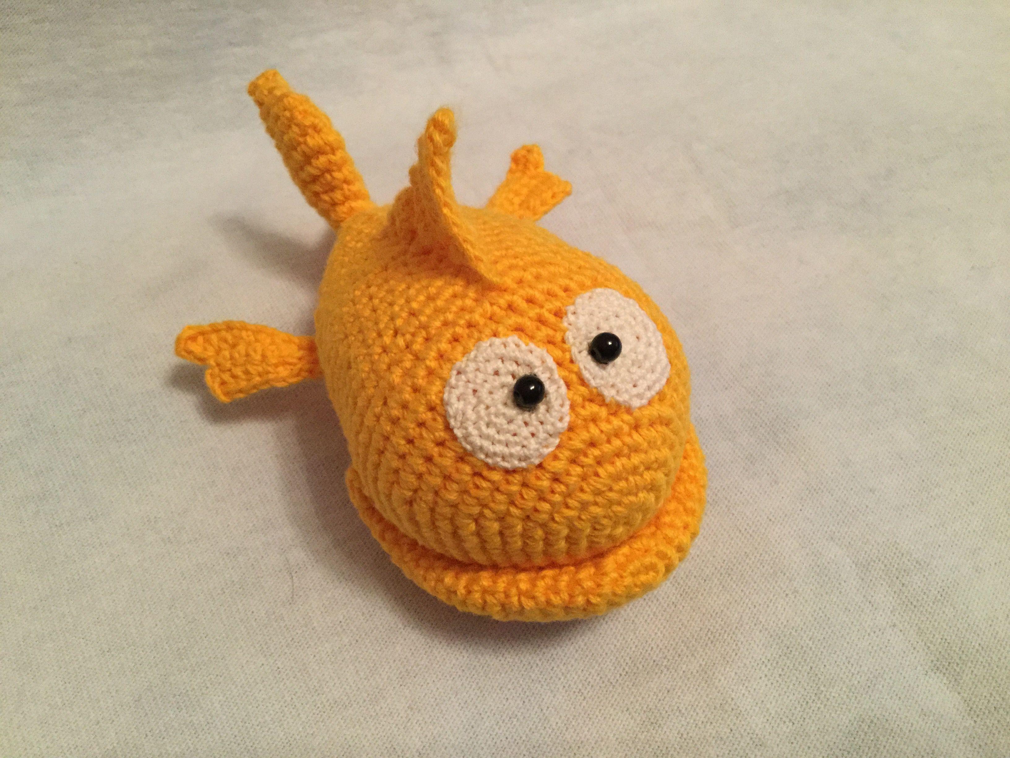игрушка ручнаяработа рыбка
