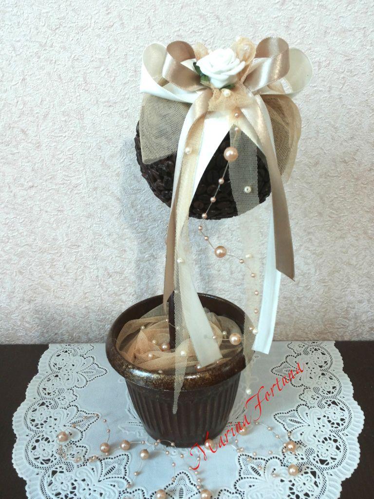 кофейный деревосчастья топиарий подарок