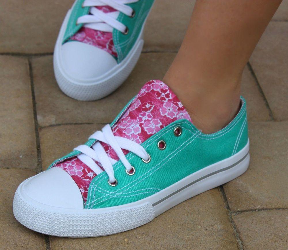 идея кроссовки переделка кеды одежда обувь ткань