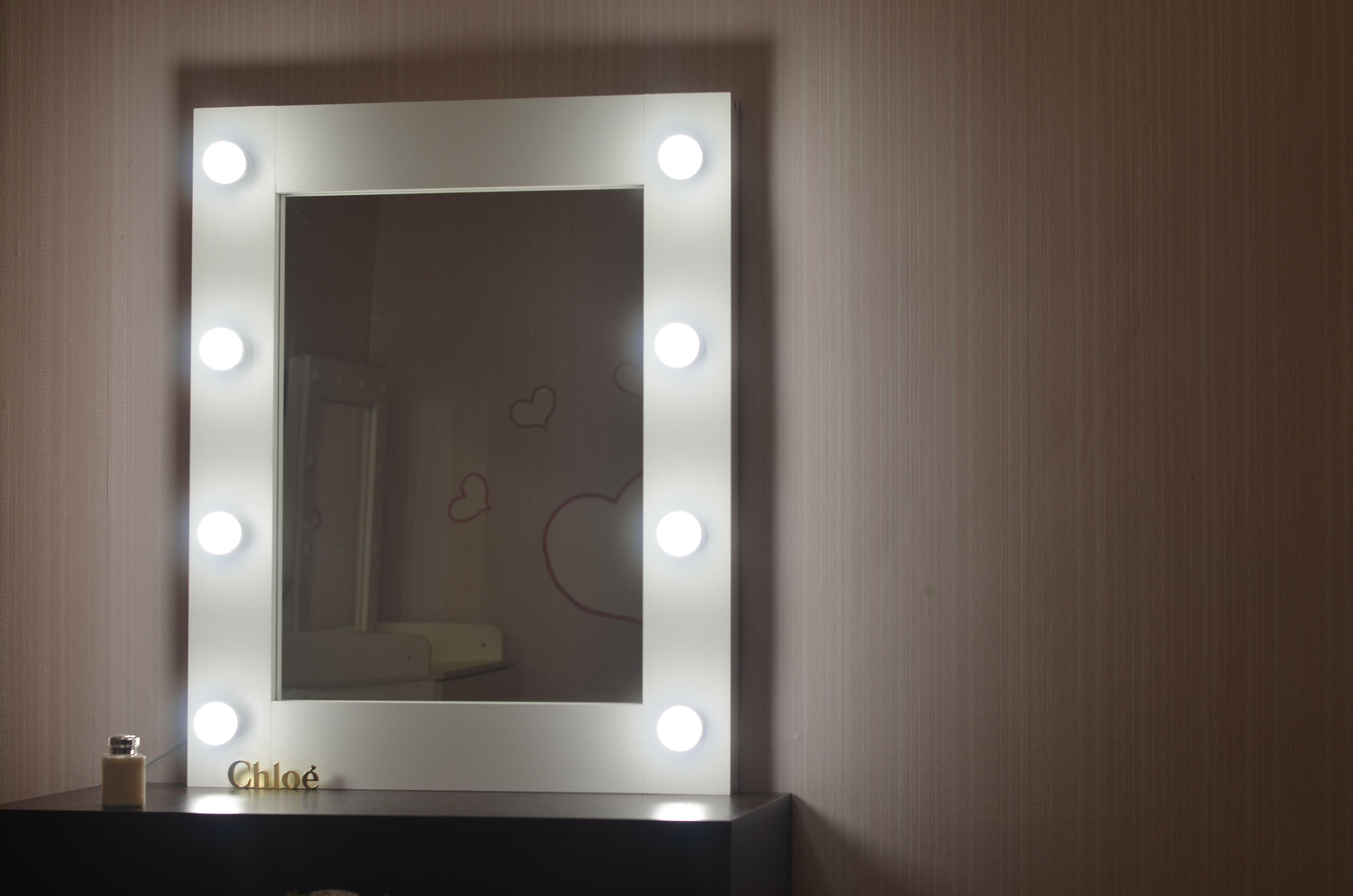 мебель селфизеркало гримерноезеркало зеркалосподсветкой гримепныйстол зеркаловизажиста интерьер подарок