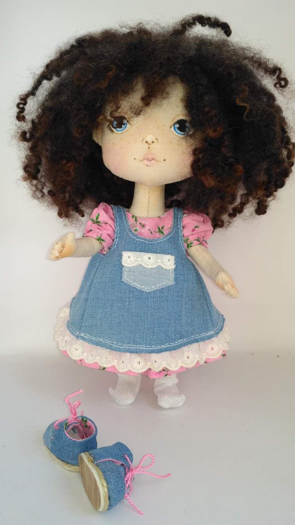 кукла текстильная авторская подарок