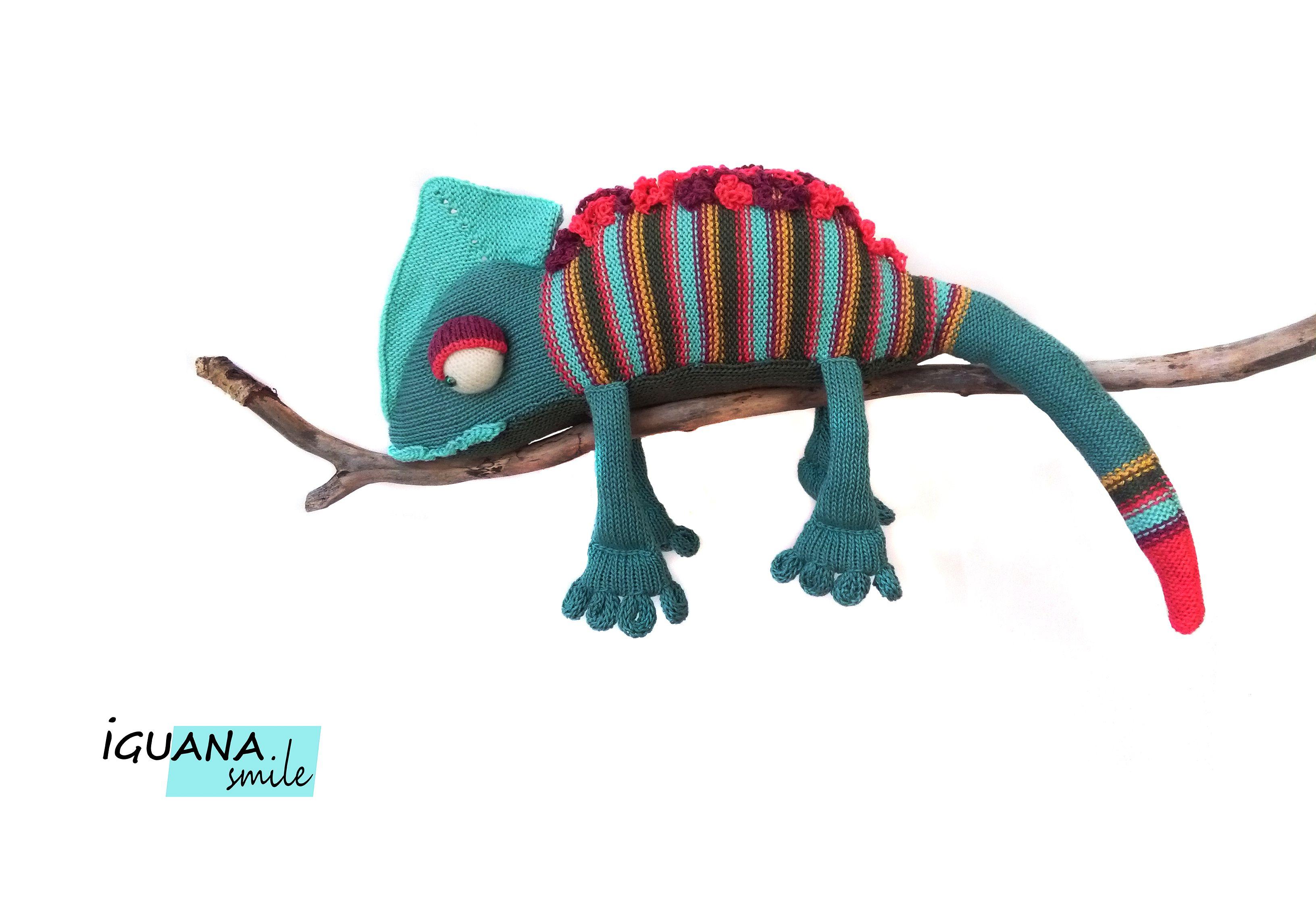 подарок длядетей оригинальныйподарок игуана необычнаяигрушка крутойподарок крутаяигрушка ящерица хамелеон мягкаяигрушка вязанаяигрушка
