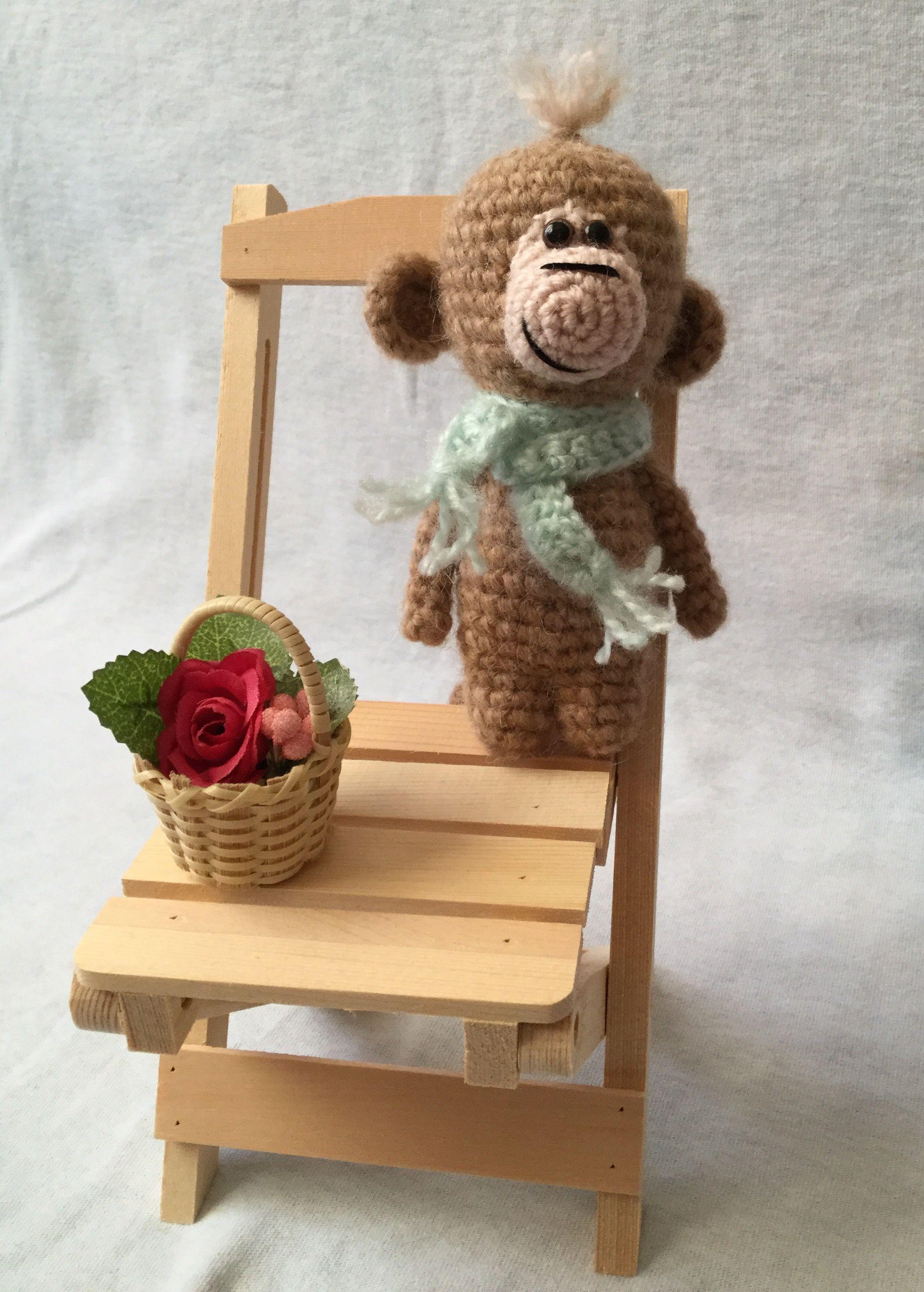 ручнаяработа обезьяна игрушка