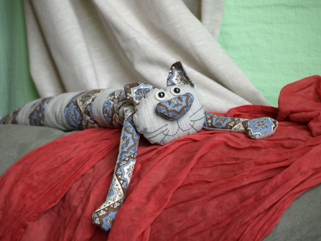 подушка мягкаяигрушка текстильнаяигрушка текстильныйкот интнрьернаяигрушка котоподушка подушка. кот