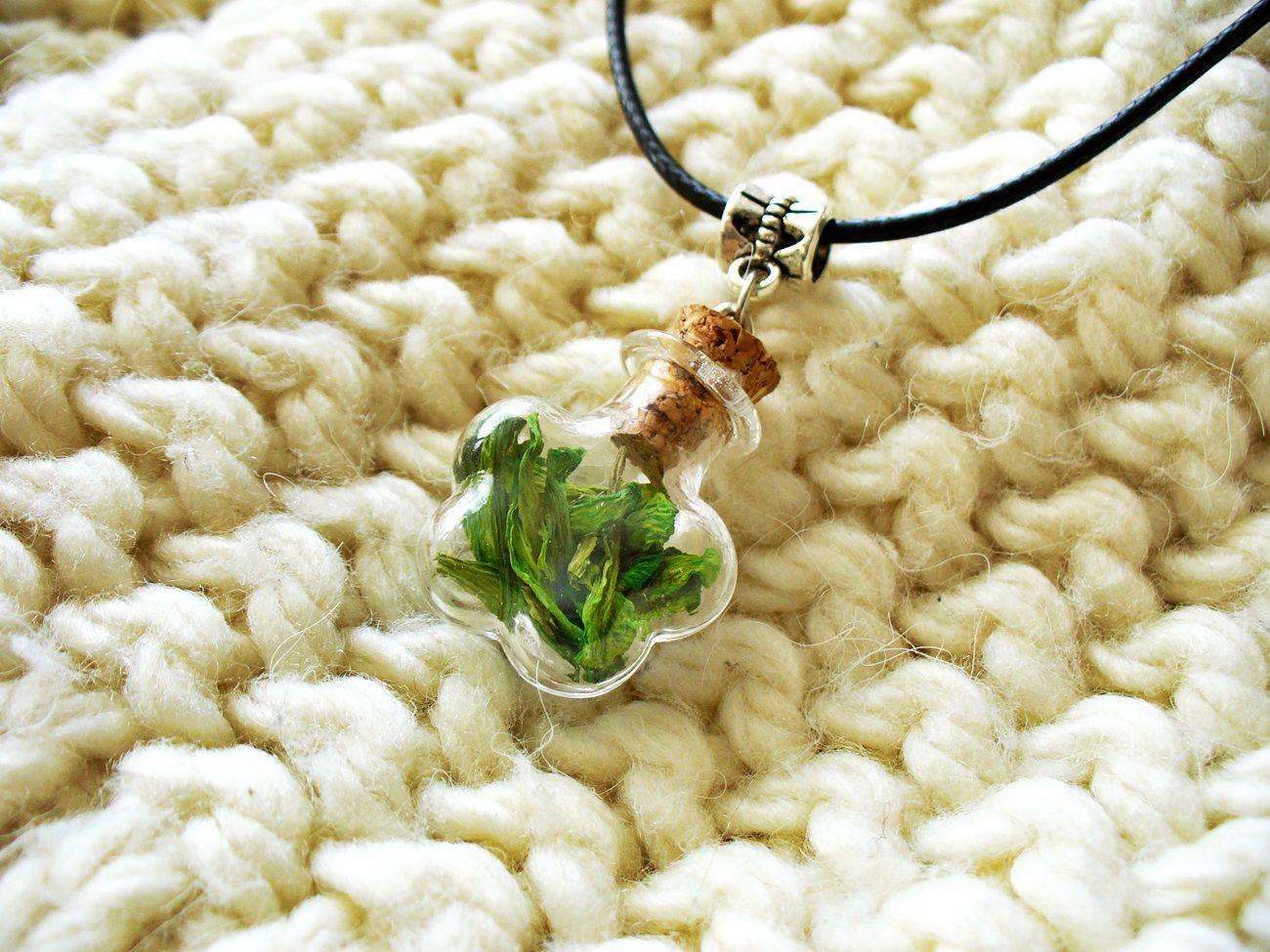 кулон лавкалисицы цветы сухоцветы