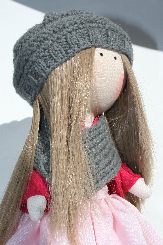текстильная кукла авторская интерьерная