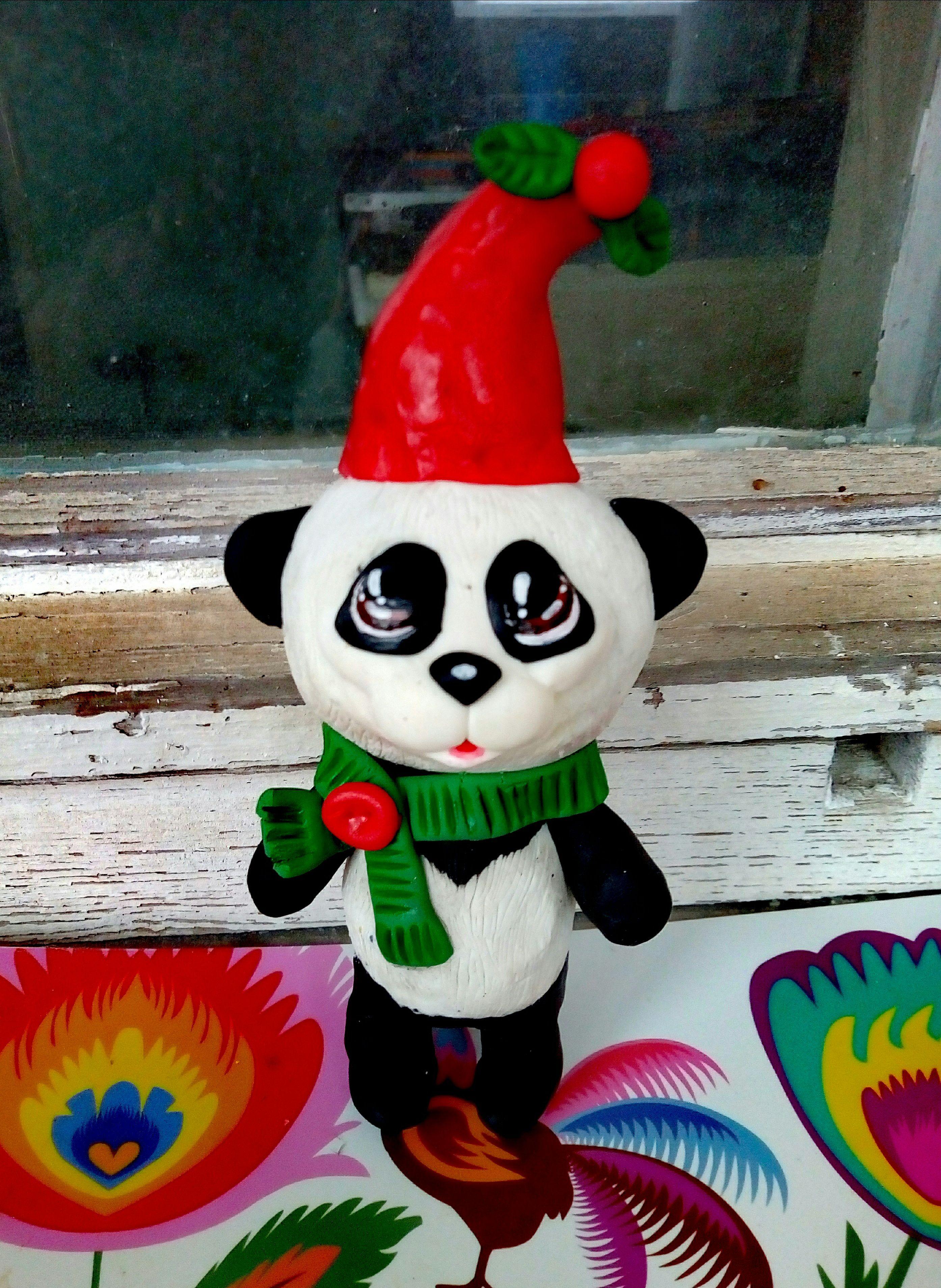 статуэтка новыйгод зверята сувенир милая животные панда