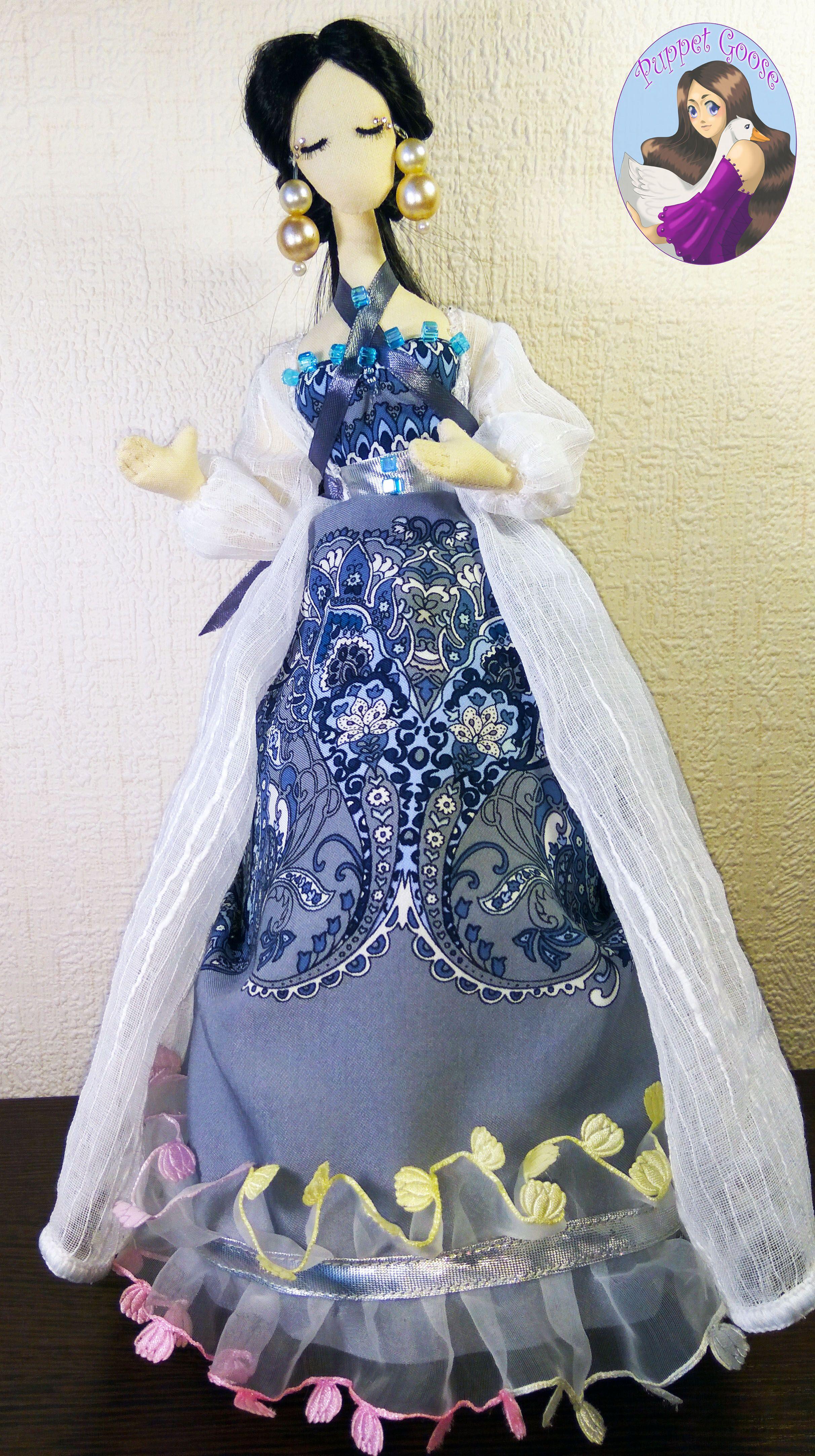 текстильная тряпиенс шитье ткань кукла интерьерная