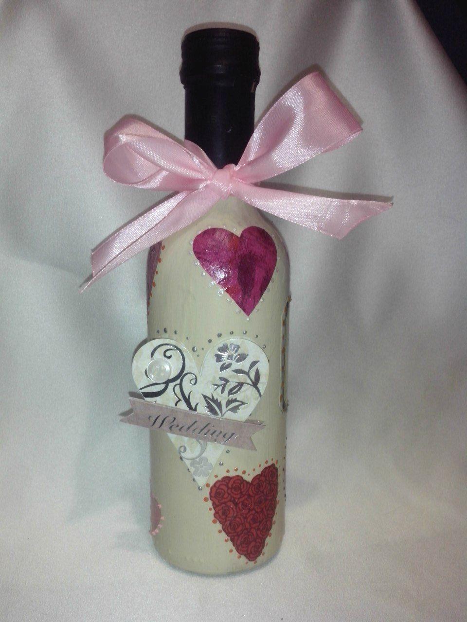 свадьба торжество творчество вино handmade хендмейд украшениебутылки уникальныйподарок ручнаяработа