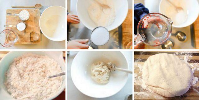 Как сделать соленое тесто 2